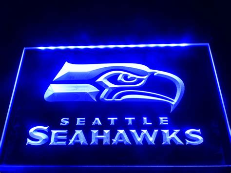 neon sign home decor aliexpress com buy ld242 seattle seahawks bar pub led