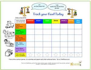 food tracker template food tracker healthy food tracker diary for with