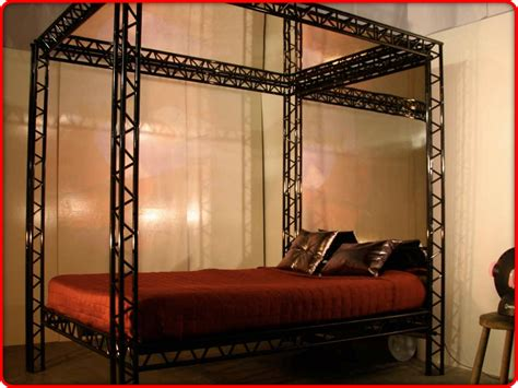 dungeon beds the red kinky bed the ultimate bondage kink bed for
