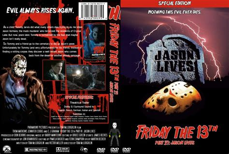 section 6 movie friday the 13th part 6 movie dvd custom covers