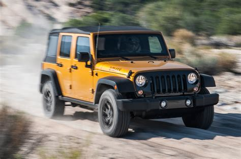 Willys Jeep Wrangler 2014 Jeep Wrangler Unlimited Willys Wheeler Front Three