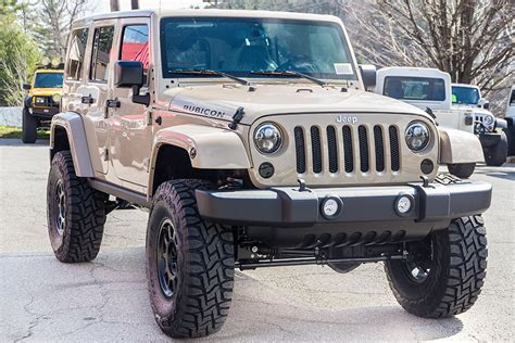 Jeep Rt 2016 Jeep Wrangler Rubicon Unlimited Mojave Sand