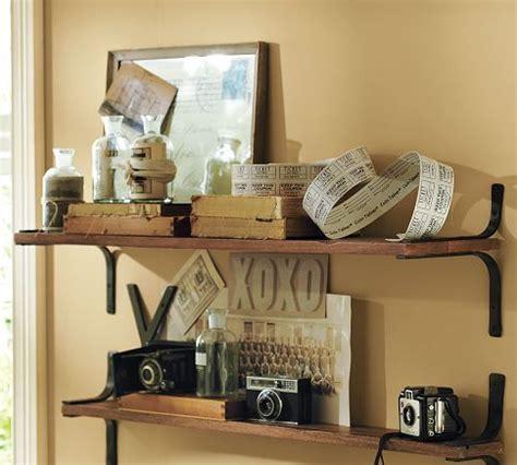 Pottery Barn Shelf Brackets by 9 Best Images About Shelves On Shelves