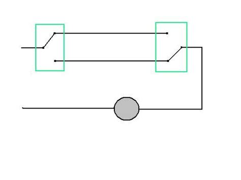 wiring diagram for a light controlled by two switches