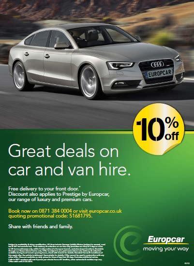 discount vouchers europcar uk lancing business park member offers