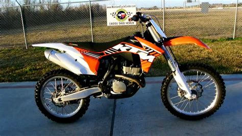 electric ktm motocross bike 2012 ktm 250 sx f electric start motocross bike youtube