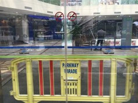 new year singapore malls closed parkway parade shopping mall closed till further notice