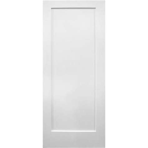 home depot white interior doors 1 panel shaker unfinished primed white wood prehung interior door hdpr1s24lp at the home depot