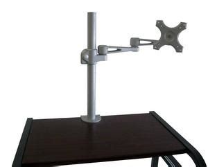 df17cl monitor desk arm cl on desk or bolt on wall