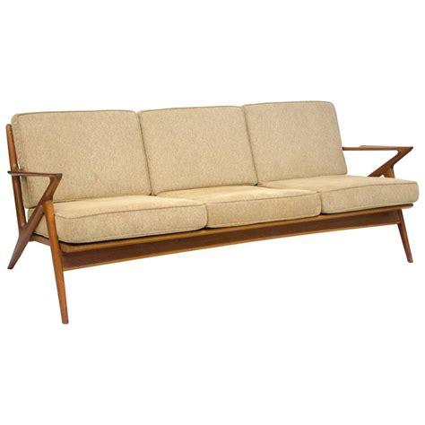 selig sofa danish teak z sofa poul jensen for selig at 1stdibs