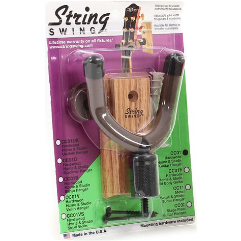 string swing electric guitar wall hanger string swing cc01 wood wall mount electric bass acoustic