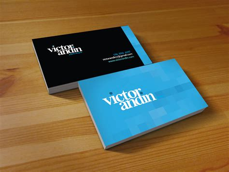 Name On Card Gift Card - victor andin design name card victor andin design