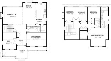 house floor plan 2 floors with house plans dogwood 2