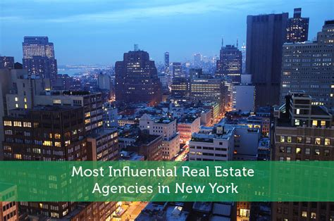 Nyc Records Real Estate Most Influential Real Estate Agencies In New York Modest Money