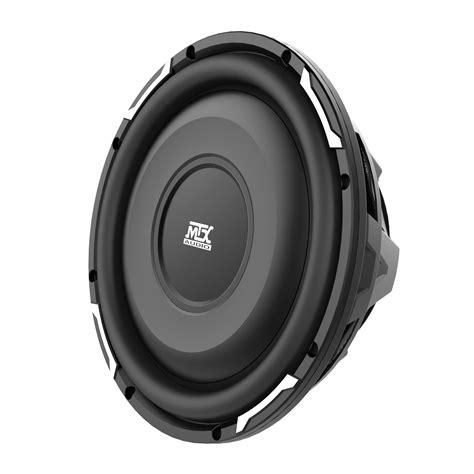 Speaker Subwoofer fpr10 02 10 quot shallow mount fpr series 2 ohm single voice coil subwoofer mtx audio serious