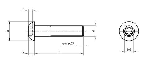 Comptoir General Du Batiment by Iso 7380 Tx Pan Screws With Torx