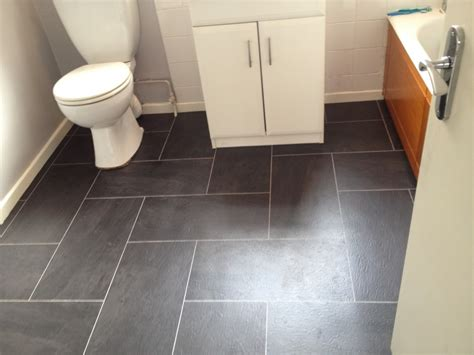 pretty bathroom floor tile ideas black color combine with white design and more