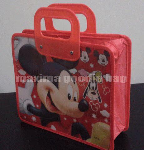 Tas Ultah Mickey Mouse 3 goodie bag ultah tas jinjing mickey mouse pj003 perdana