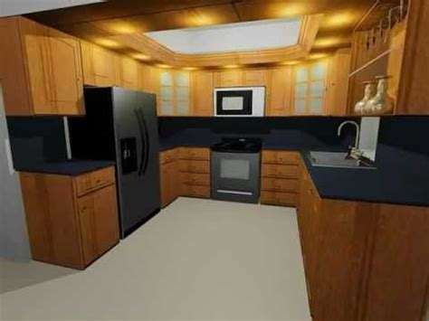 autocad kitchen design a really nice kitchen in autocad youtube