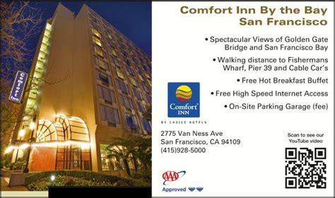comfort inn by the bay comfort inn by the bay san francisco ca aaa com