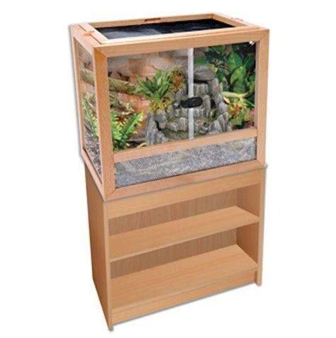 reptile l stand diy wood reptile cage ebay