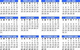 Calendario Marzo 2009 Calendario El Marzo De 2009 Fotos Stock 36 Calendario El