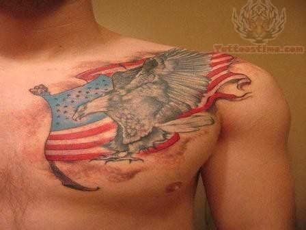 american flag chest tattoo international flag images designs