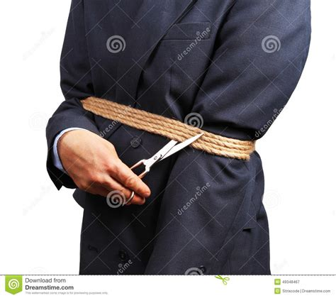 Get Rid Of Criminal Record Image Of Businessman Trying To Get Rid Of Fetters Stock Image Image 49348467