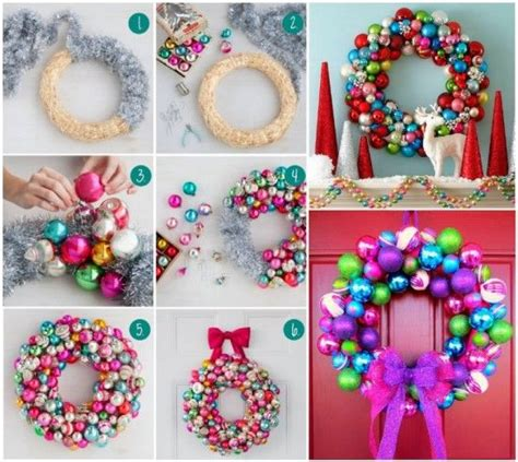 diy bauble wreath pictures photos and images for
