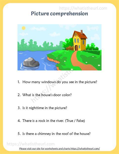 picture comprehension  home teacher