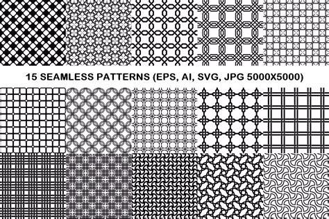 grid pattern svg 15 seamless grid patterns eps ai svg design bundles
