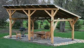 Timber frame pergolas timber frame porches amp pavilions custom timber