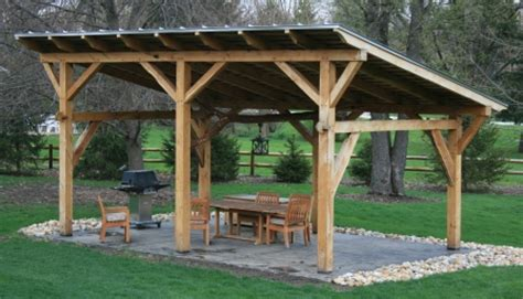backyard shelter outdoor shelter ideas timber frame pergolas timber