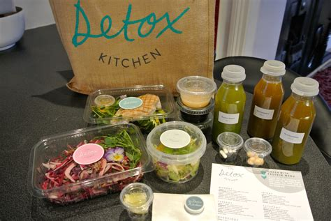 Detox Kitchen Menu by The Detox Kitchen Kitinlondon