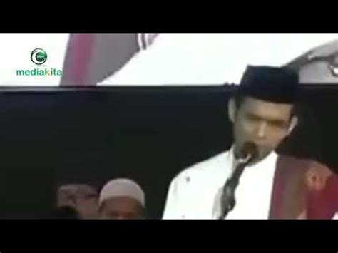 Somad Nyanyi viral ustadz abdul somad marah suaranya merdu nyanyi ya