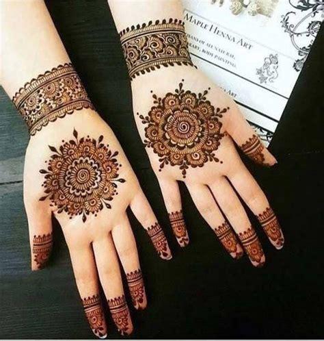 enchanting  impressive easy mehndi designs