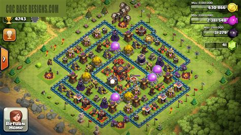 clash of clans th10 trophy layout bild th10 trophy base layout 7 jpg clash of clans wiki
