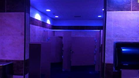 blue light in bathroom gas station installs blue lights to combat use cnn