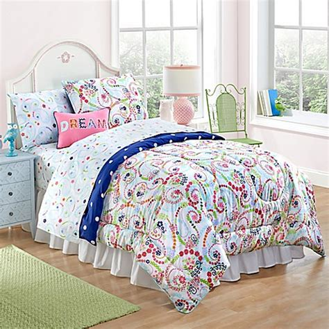 Bed Bath Beyond Comforter Sets Paisley And Dot Comforter Set Bed Bath Beyond