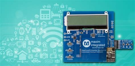 maxim integrated products istanbul design center industrial iot reference design secures data chains eenews europe