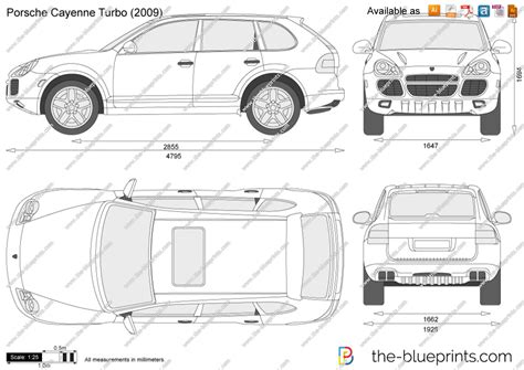 porsche vector the blueprints com vector drawing porsche cayenne turbo