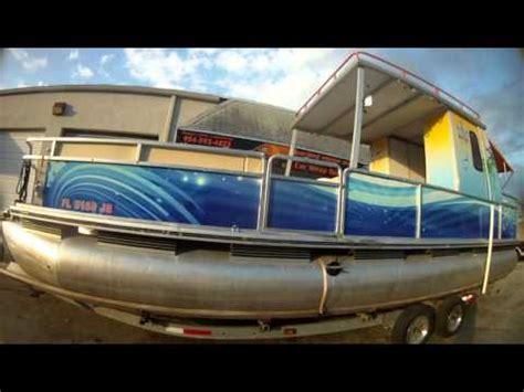 boat vinyl wrap youtube boat graphics vinyl wraps dania beach florida by car