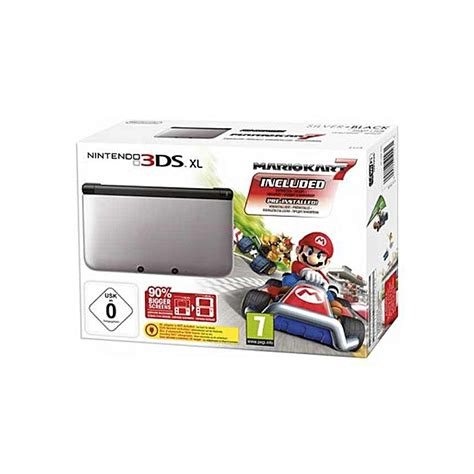 nintendo 3ds console best price buy nintendo nintendo 3ds xl console mario kart 7 bundle