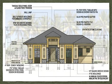 Free Small House Floor Plans Philippines Small House Design Plan Philippines Compact House Plans