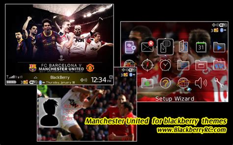 themes blackberry manchester united manchester united themes for bb 89 96 9700 free