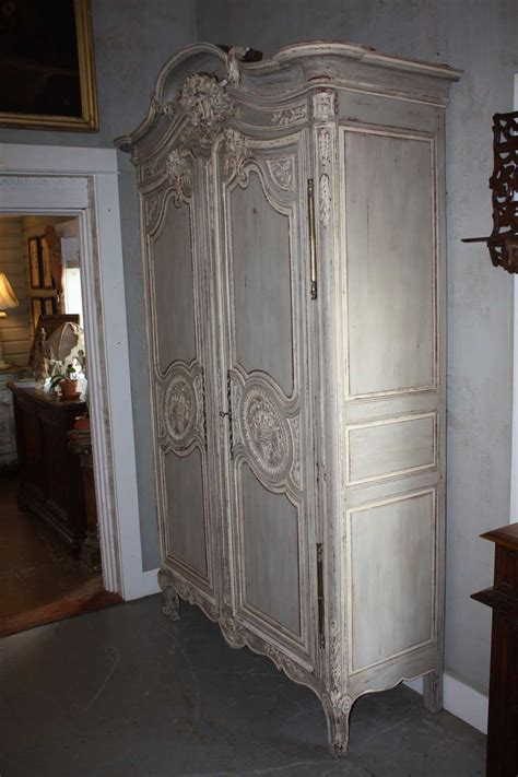 french painted armoire 19th century french painted armoire at 1stdibs