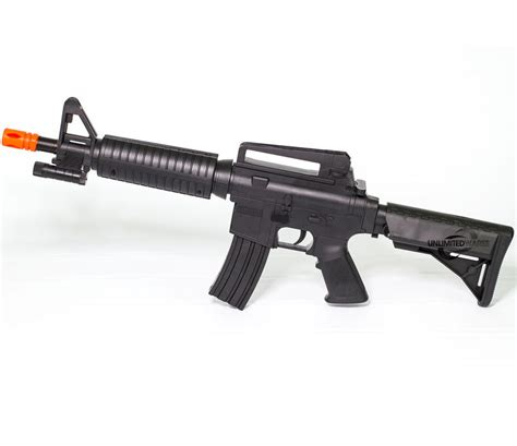 ebay airsoft new m4 a1 m16 tactical assault spring airsoft rifle pellet