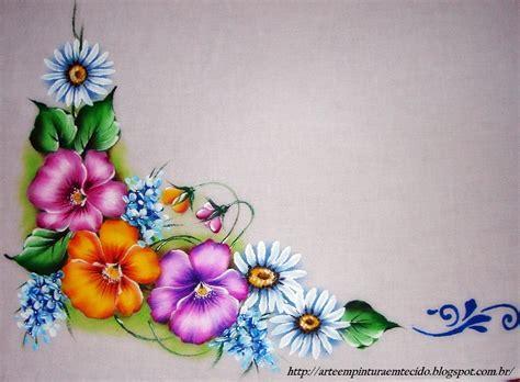 imagenes de varias flores pintura em tecido como fazer passo a passo riscos e