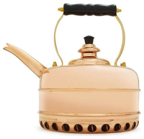 sur la table tea kettle simplex copper teakettle for gas appliances kettles by