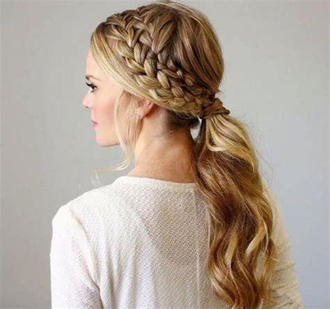 braided hairstyles side ponytail 19 pretty ways to try french braid ponytails pretty designs